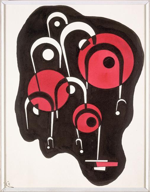 Vassily Kandinsky, Noir-Rouge