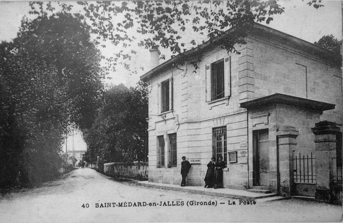 L'ancienne poste de Saint Médard en Jalles